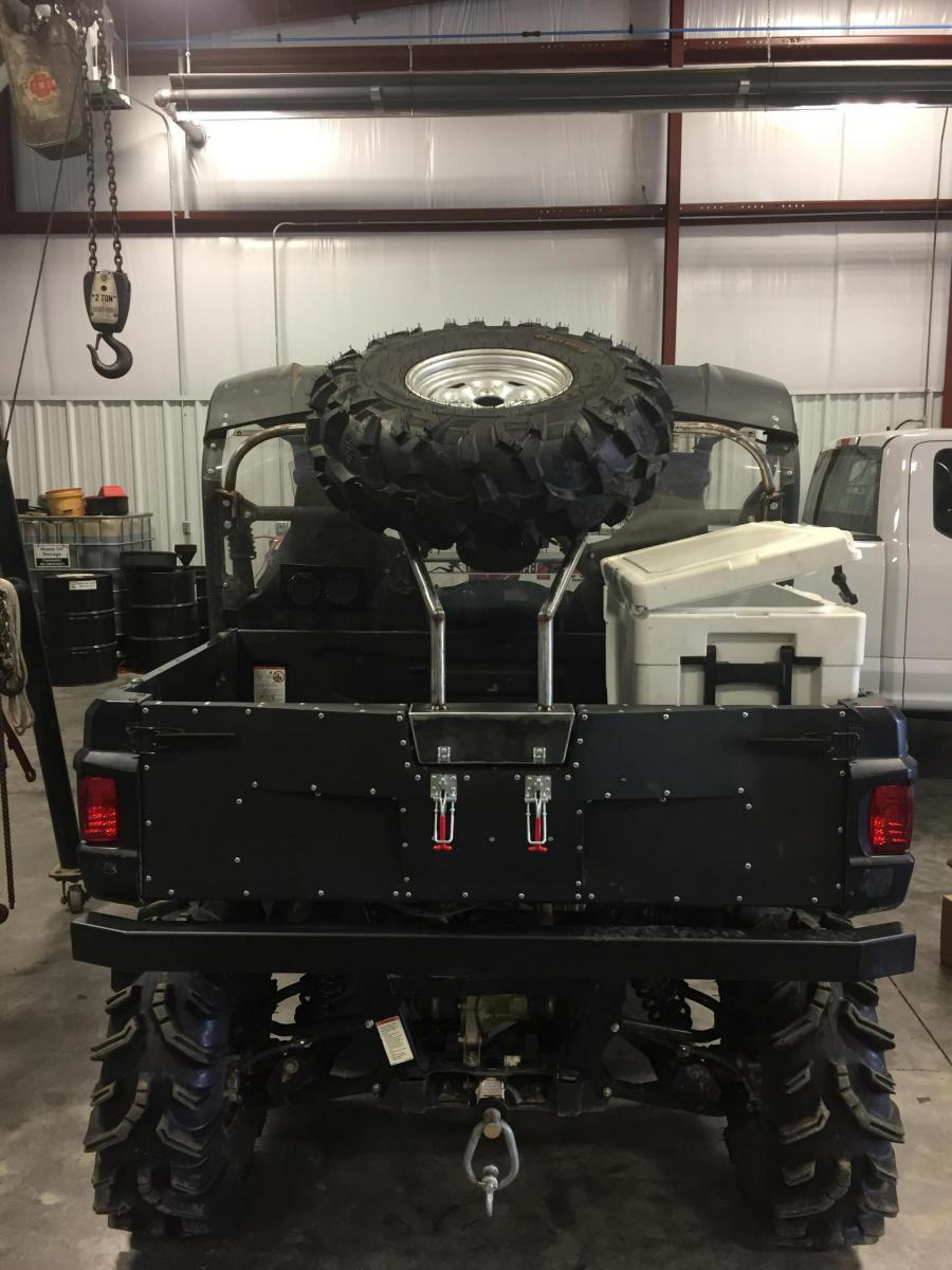 D New Spare Tire Carrier Img