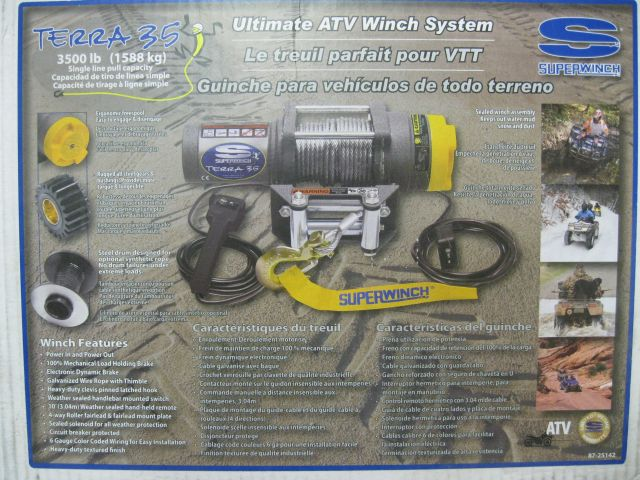 Which Winch are you going with- Warn, Viper, Venom